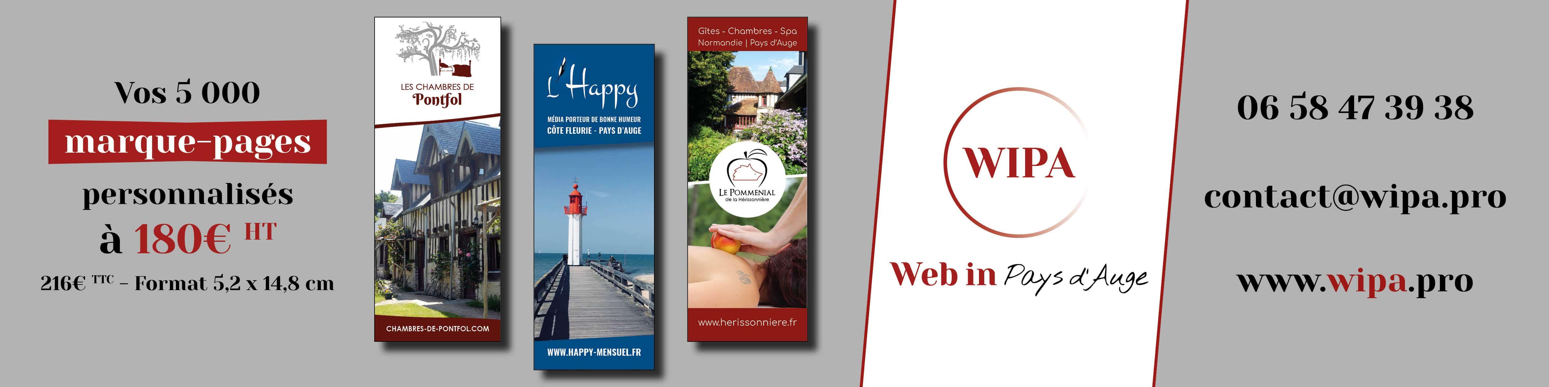 Web in Pays d'Auge_Création graphique_L'Happy mensuel
